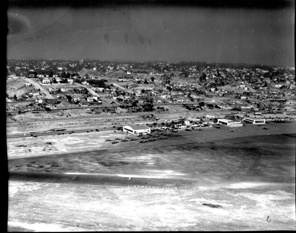 Lindbergh Field in 1935